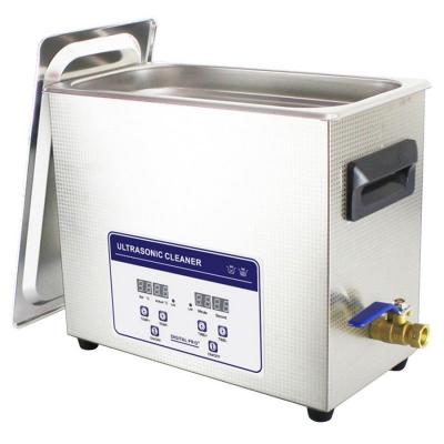 Bac à ultrasons professionnel 6,5 L avec chauffage