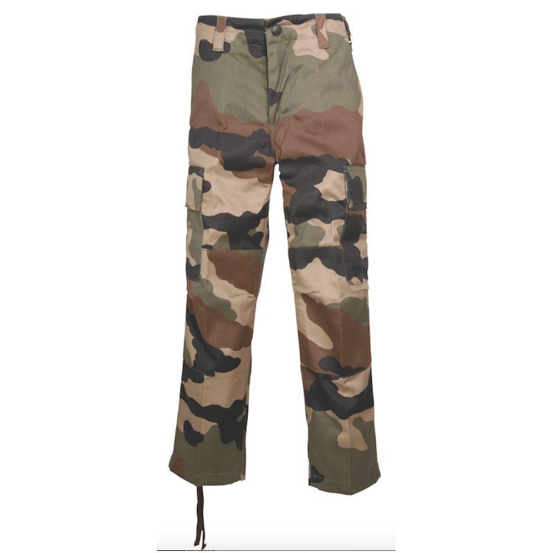 Pantalon de chasse enfant percussion camo ce 4 ans a 14 ans