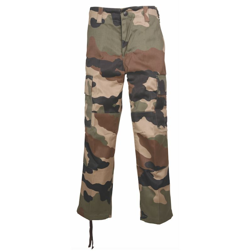 Pantalon de chasse enfant percussion camouflage 4 a 14 ans