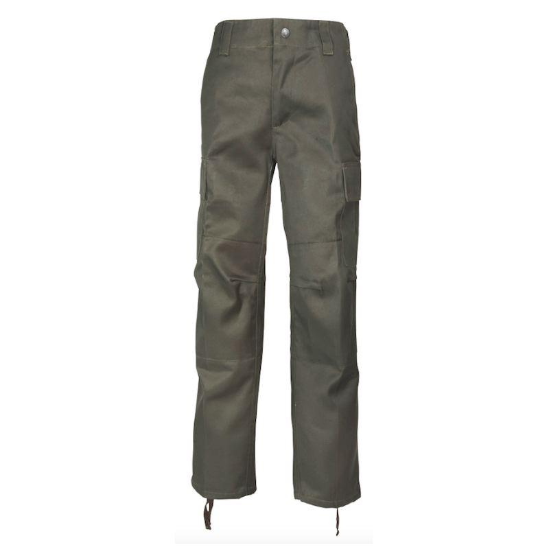 Pantalon de chasse enfant percussion kaki 4 ans a 14 ans