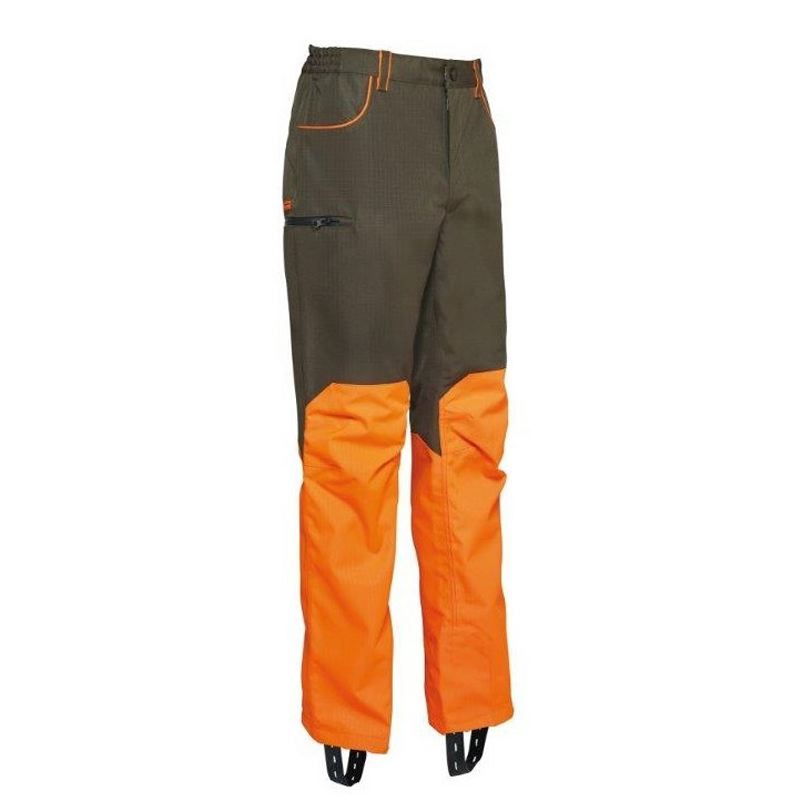 Pantalon etanche verney carron wp rapace kaki et orange