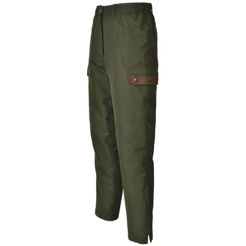 Pantalon fuseau de chasse camouflage natureland idaho vosges