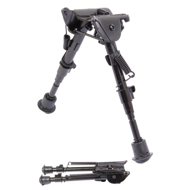 Petit bipied pour fusil et carabine hauteur de 12 a 15 cm