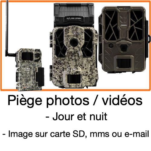 Piege photo et video camera de chasse spypoint