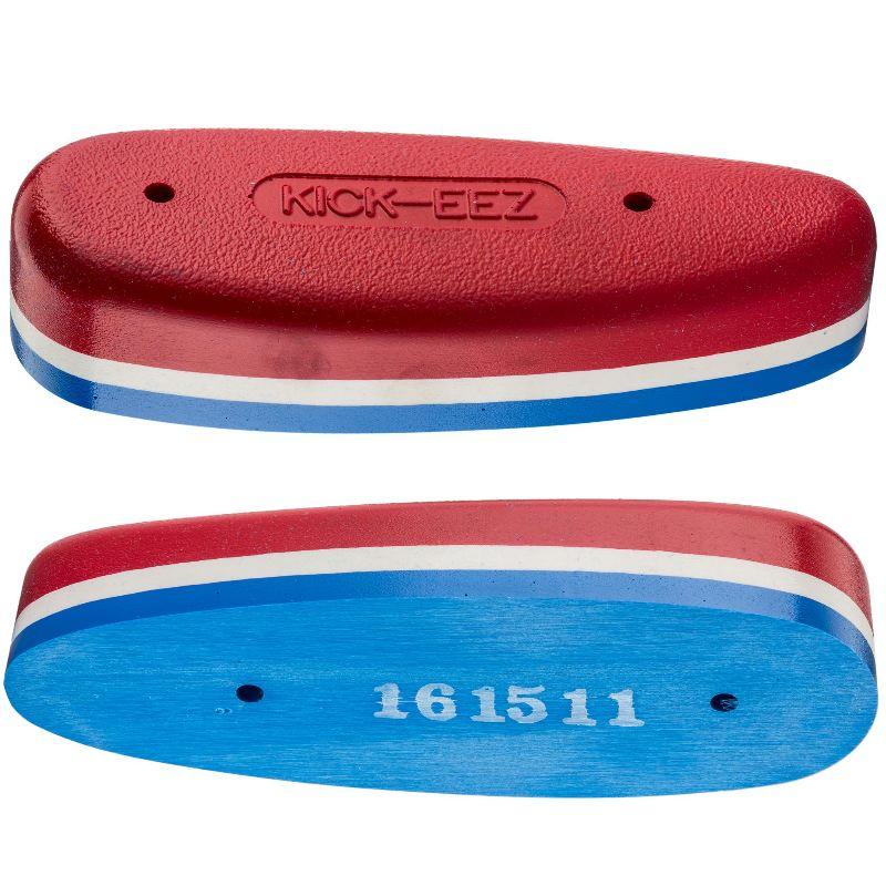 Plaque de couche anti recul en sorbothane kick eez mod 300 rouge et bleu
