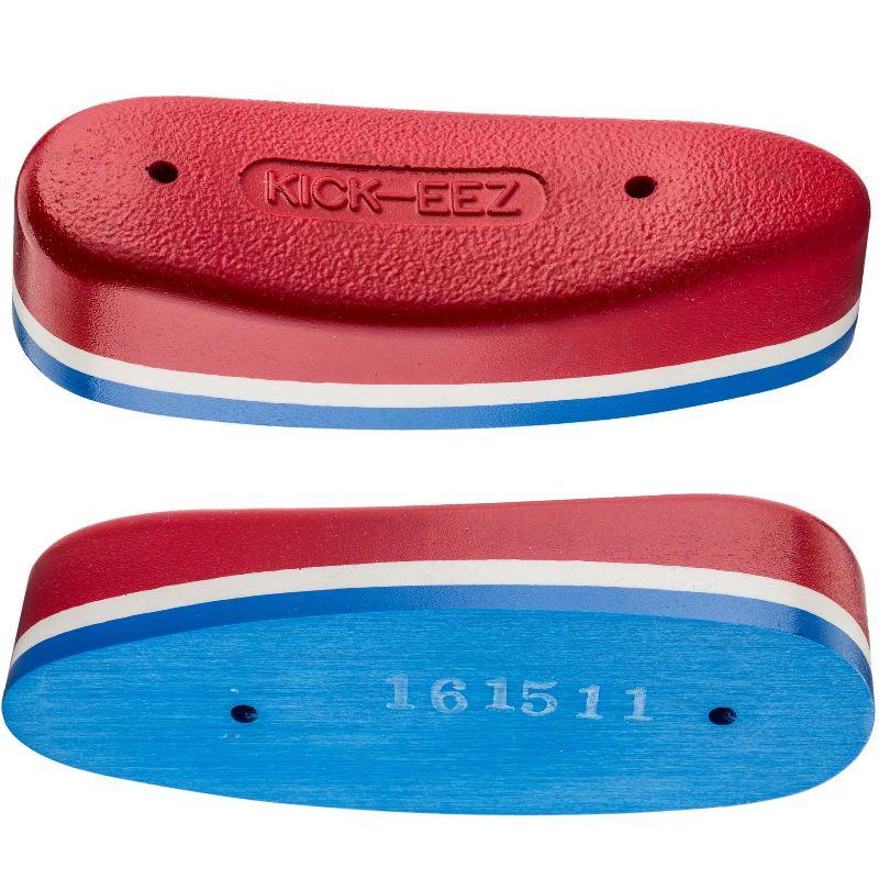 Plaque de couche anti recul en sorbothane kick eez mod 400 rouge et bleu patriot