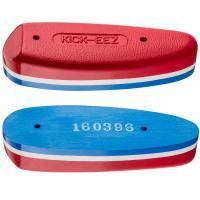 Plaque de couche rouge et bleu 28 mm en sorbothane Kick eez