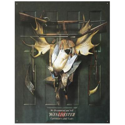 Plaque Métal Winchester
