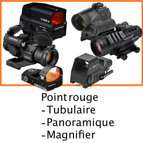Point rouge chasseur et compagnie