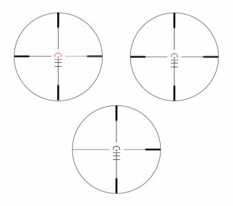 Point rouge konus sight pro pts2 3x30 couleur re ticule