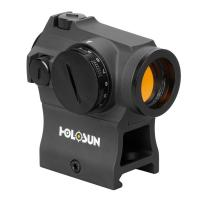 Point rouge red dot gold 2moa tubulaire holosun he403r gd