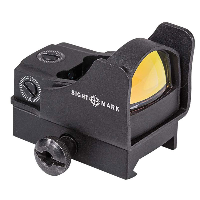 Point rouge sightmark mini shot pro spec weaver piccatiny