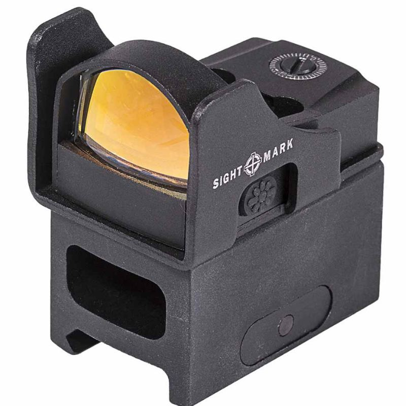 Point rouge sightmark mini shot pro spec weaver piccatiny1