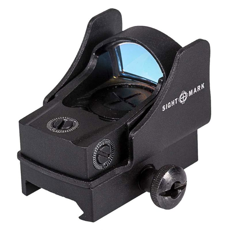 Point rouge sightmark mini shot pro spec weaver piccatiny2