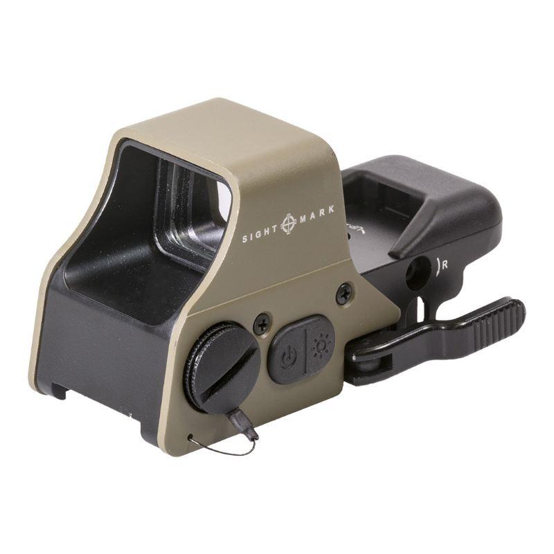 Point rouge sightmark ultra shot plus capot tan sable beige
