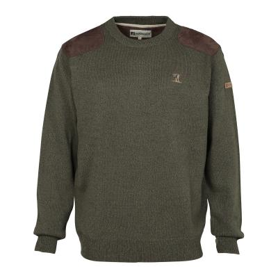 Pull de chasse Percussion col rond