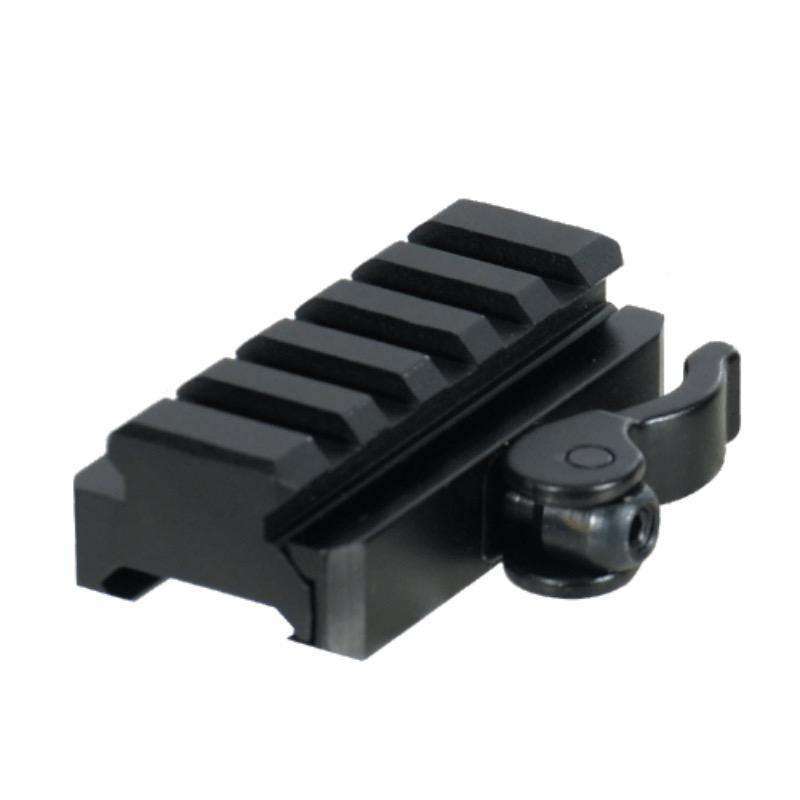 Rail a attache rapide utg 5 slots point rouge lunette de tir