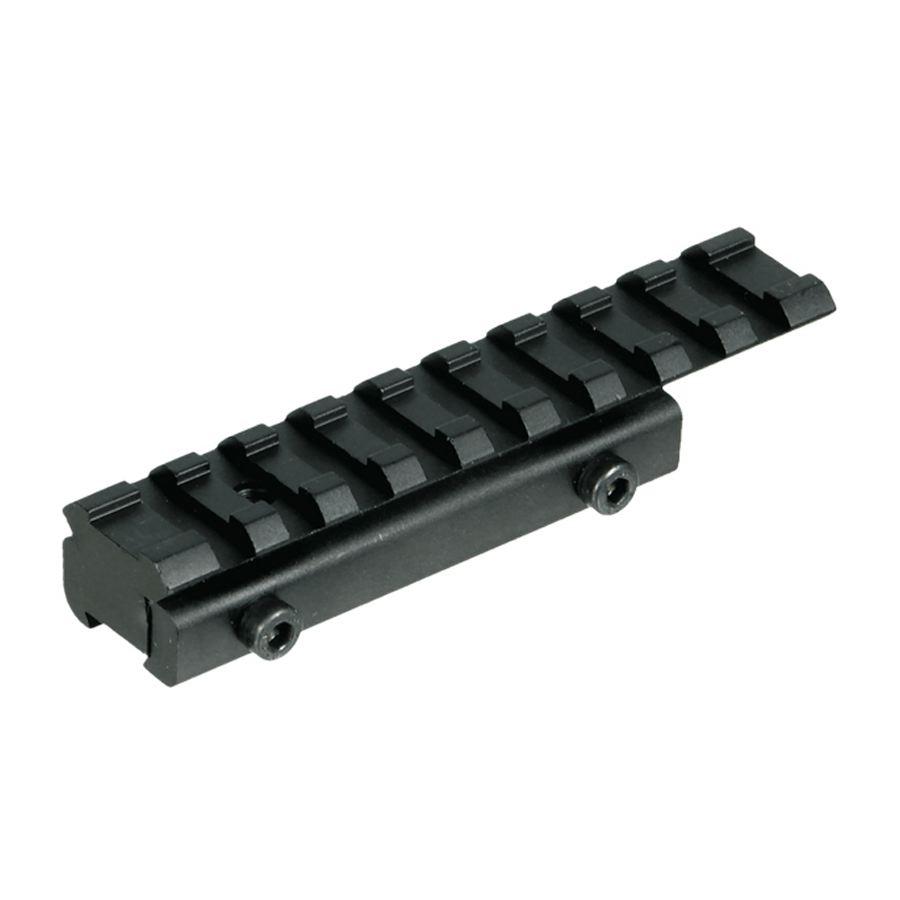Rail adaptateur lunette pour arme 11 mm vers 21 mm utg