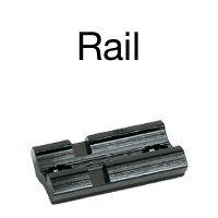 Rail montage lunette de chasse