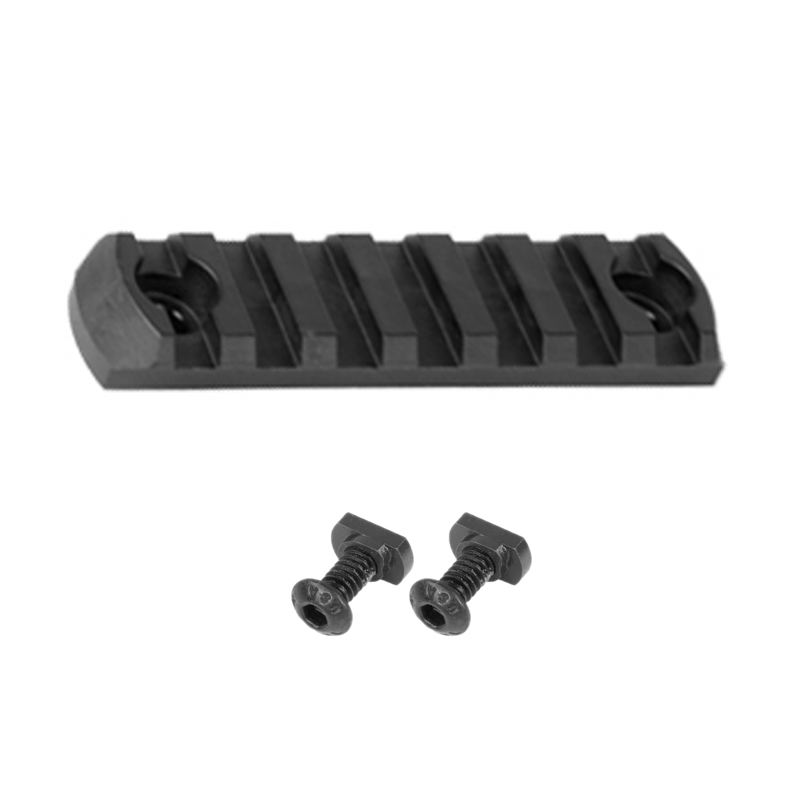 Rail picatinny long 7 slots sur garde main m lock magpul