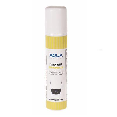Recharge citronnelle collier pulve risation dogtrace aqua spray