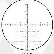 Reticule ffp apr 2d element optics helix 6 24x50