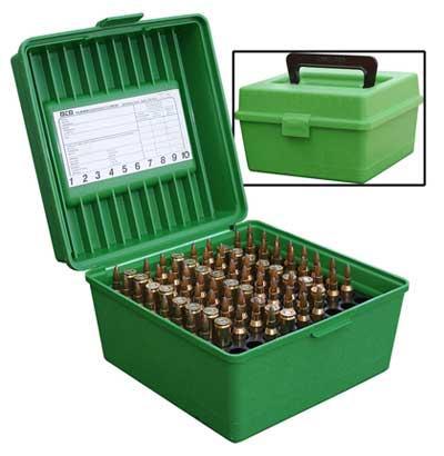 Mallette à munitions 100 compartiments MTM R-100