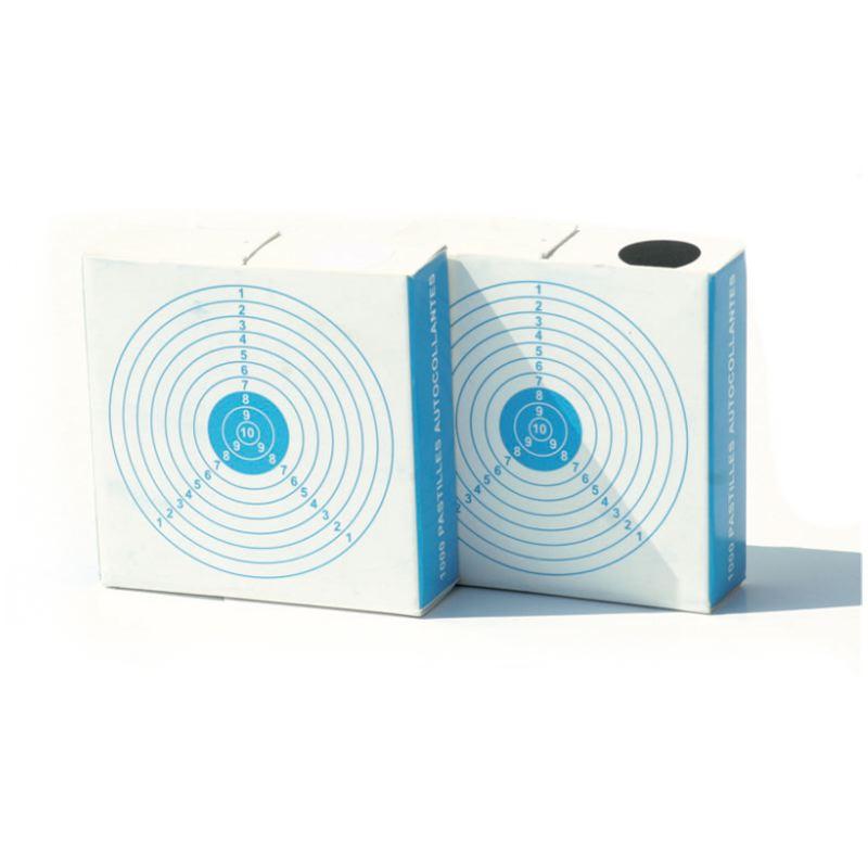 Rondelle 15mm et 19mm auto collante pour impacts sur cible x 1000
