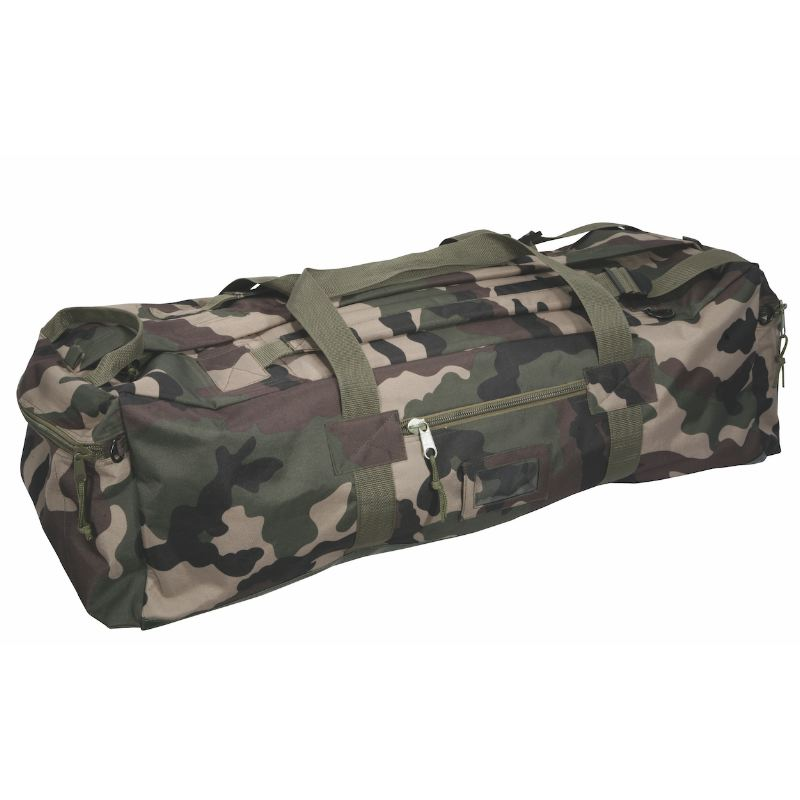 Sac ope rationnel percussion 80 litres portage main dos camo
