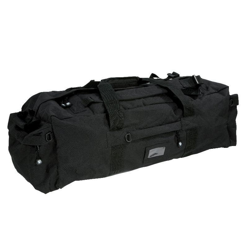 Sac ope rationnel percussion 80 litres portage main dos noire