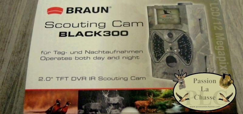 Scouting cam black300 teste par passion la chasse