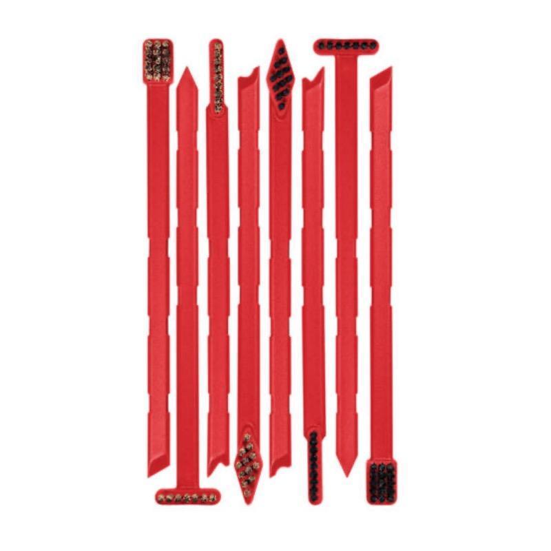 Set de 8 brosses et grattoirs Real Avid Smart Brushes