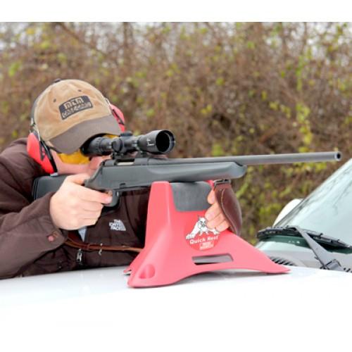 Support de tir pour la chasse sur capot voiture