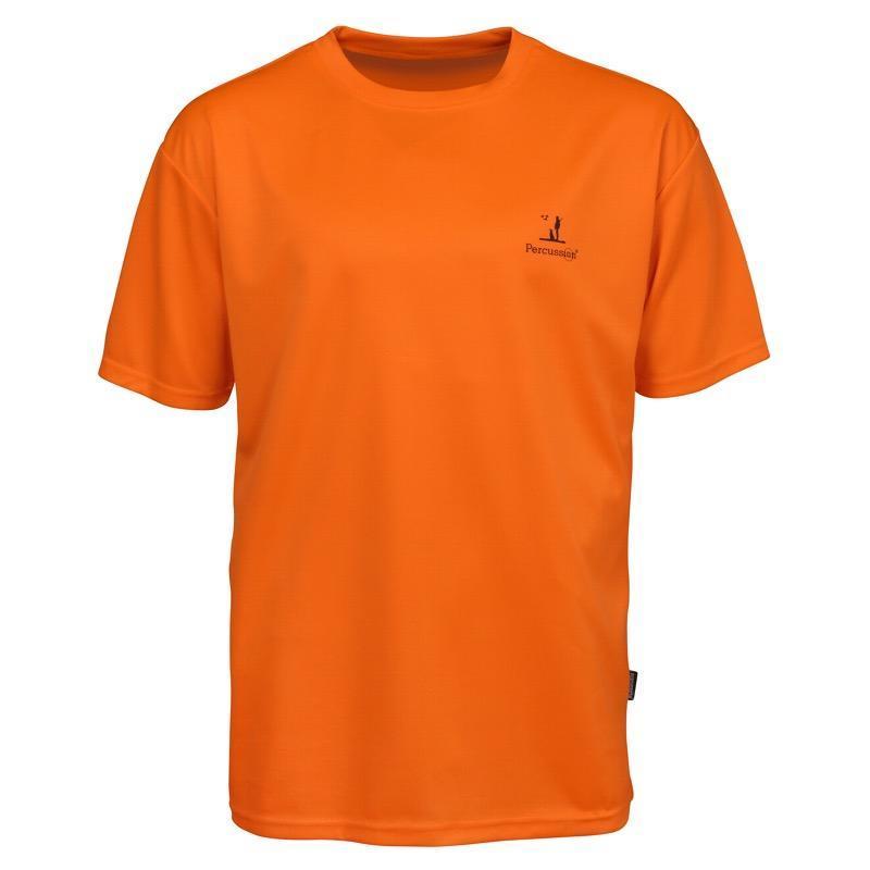 Tee Shirt Percussion Orange Fluo
