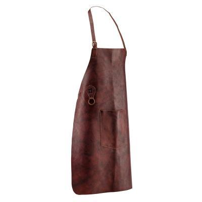 Tablier d'atelier en cuir