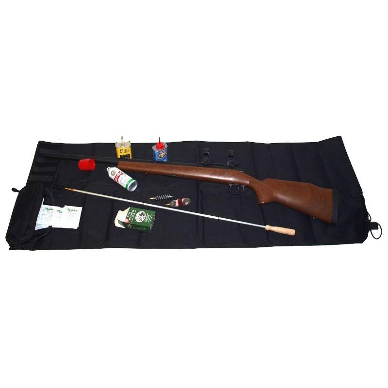 Tapis de maintenance pour arme de poing et fusil et carabine