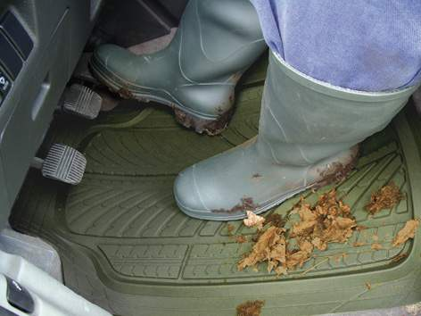 Tapis de voiture caoutchouc lavable re sistant