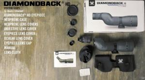 Te le scope vortex diamondback hd 16 48x65 avec oculaire droit dans la boite