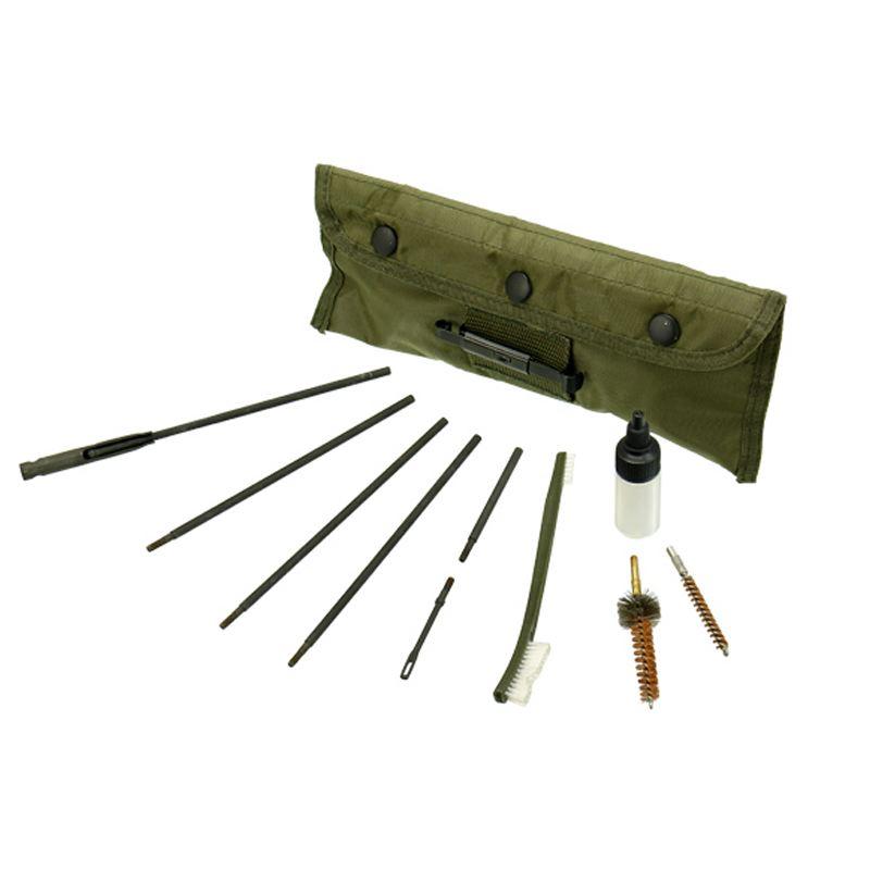 Trousse necessaire de nettoyage sur ar15 calibres 222 et 223