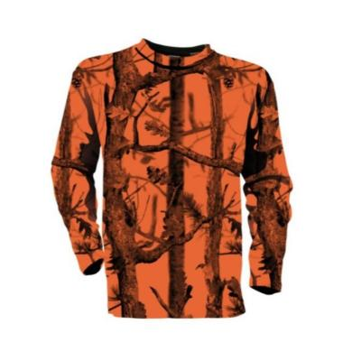 T shirt  Manches Longues Percussion Fluo GhostCamo