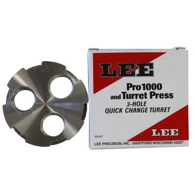 Tourelle 3 positions Turret head Lee Precision
