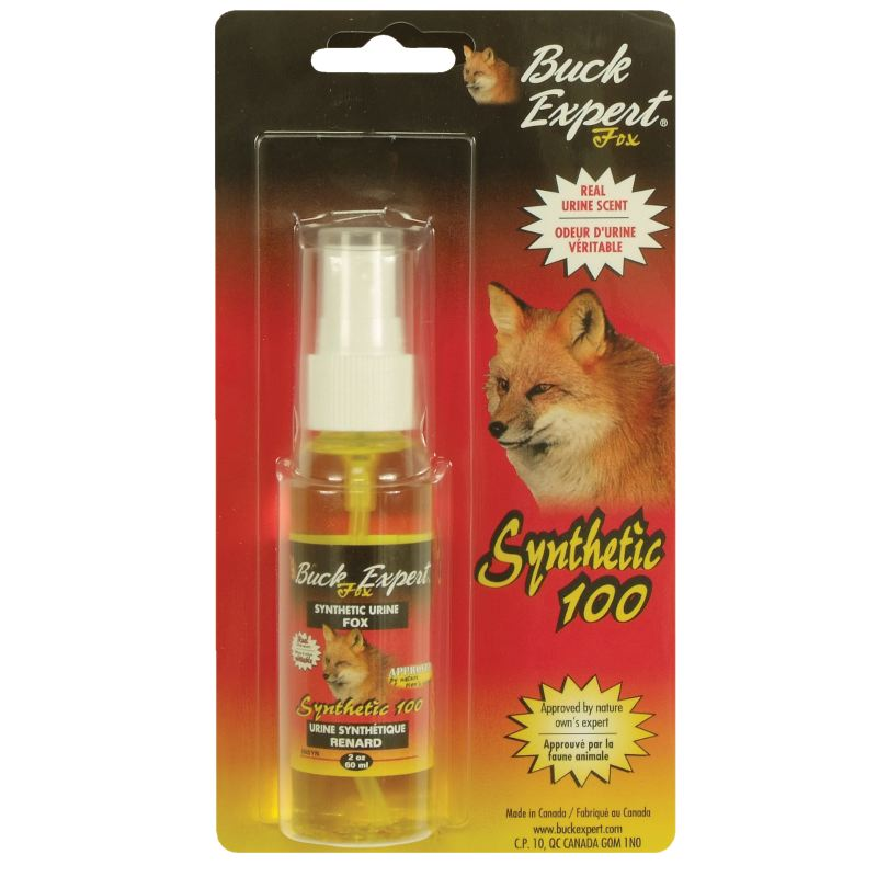 Urine synthe tique renard buck expert 60 ml pour la chasse