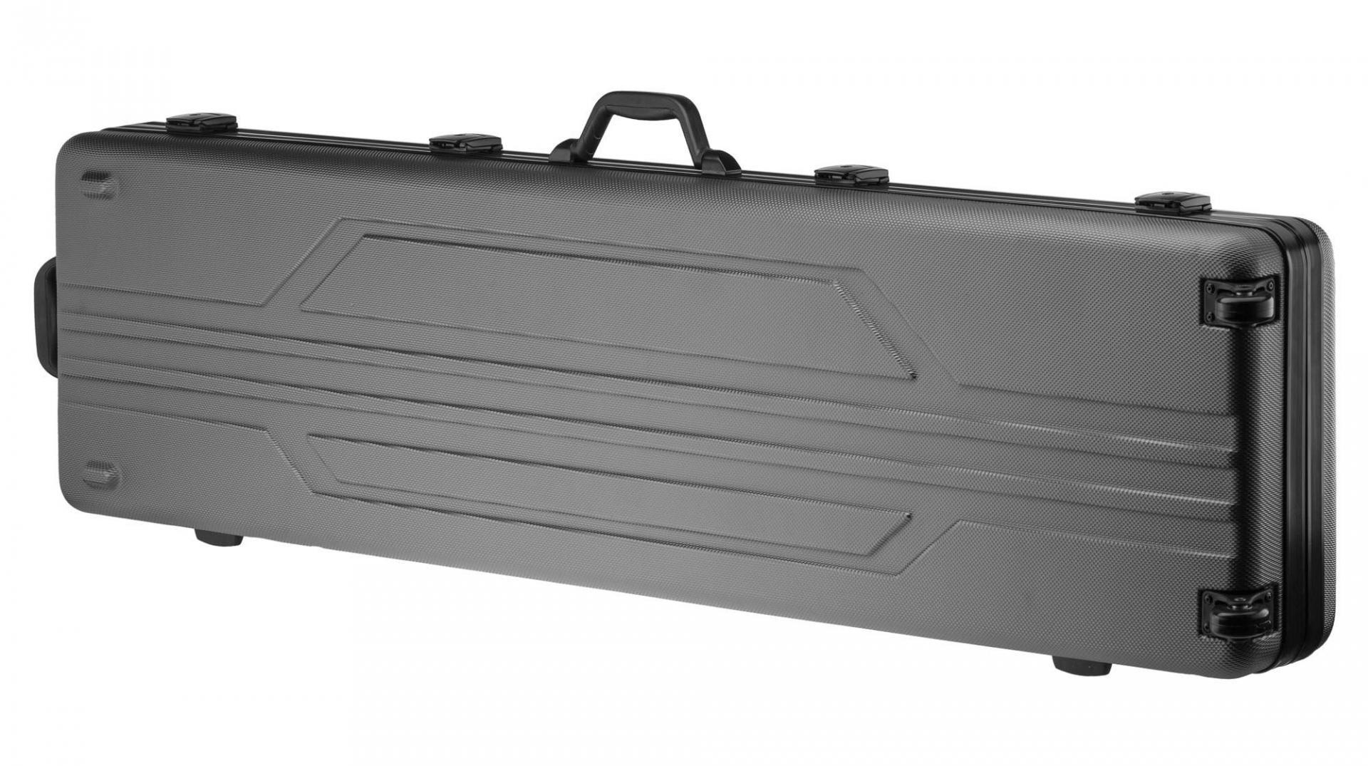 Valise noir rigide pour transport de fusil et carabine arme longue
