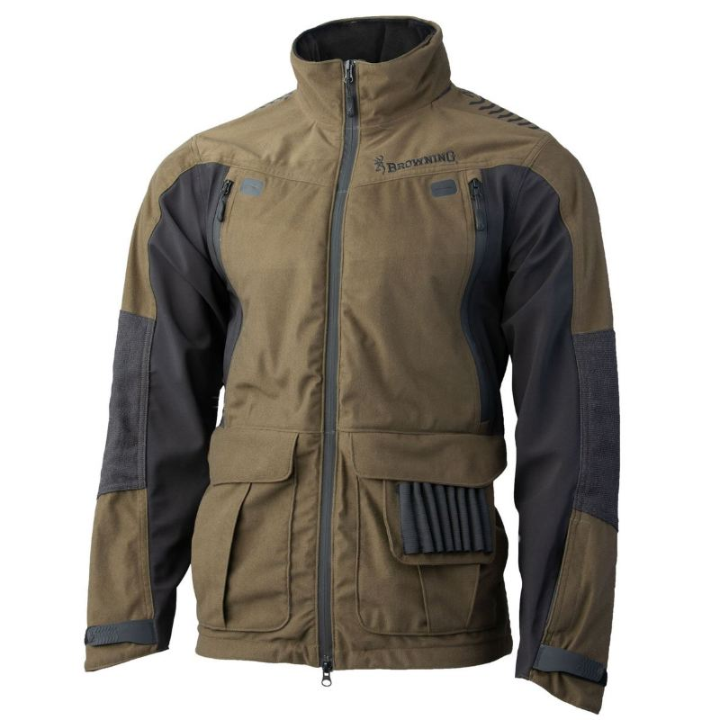 Veste browning xpo light sf verte chasse temps humide froid