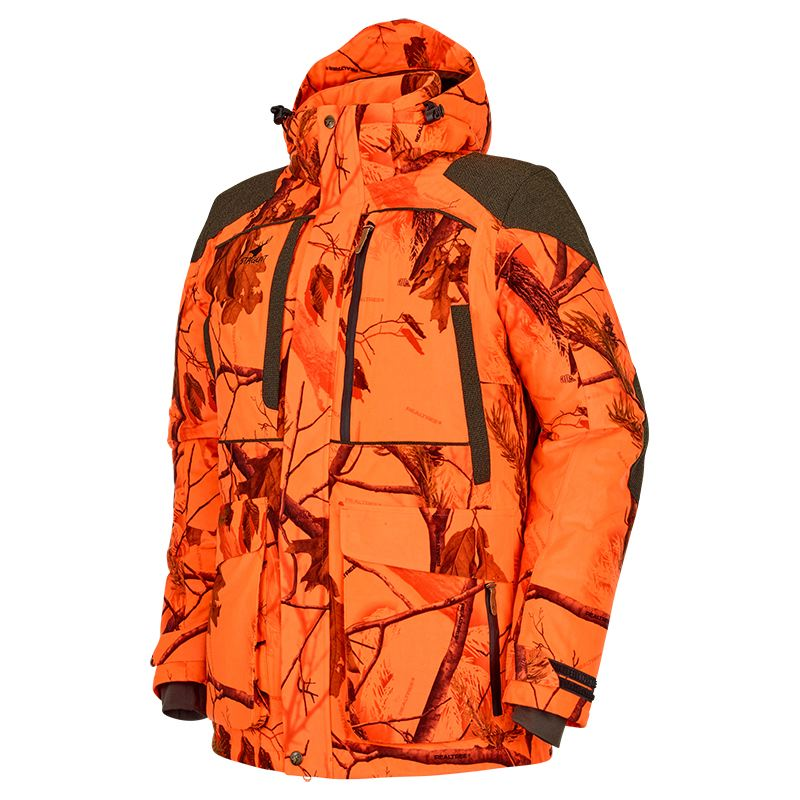 Veste de chasse au poste stagunt ciervo camo blaze orange