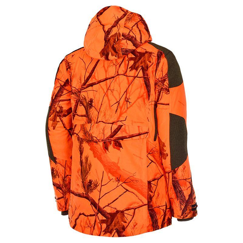 Veste de chasse au poste stagunt ciervo camo blaze orange1