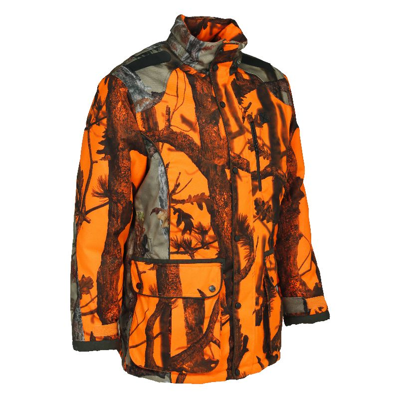Veste de chasse percussion brocard ghostcamo blaze black
