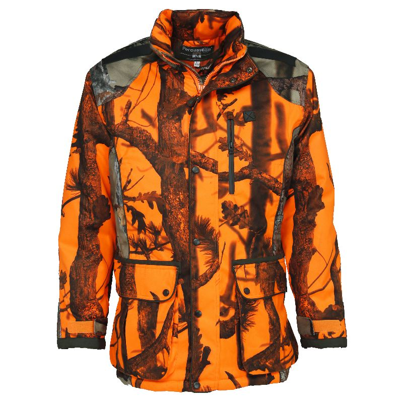 Veste de chasse percussion brocard ghostcamo blaze et black