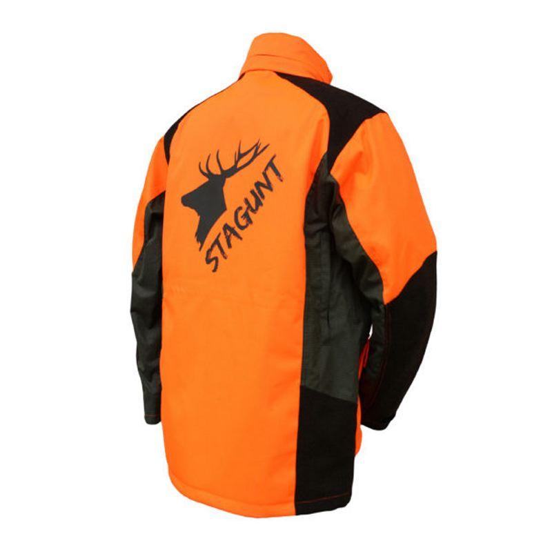 Veste de chasse traque stagunt tracklight blaze orange logo