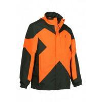 Veste de traque chasse percussion predator r2 kaki et orange
